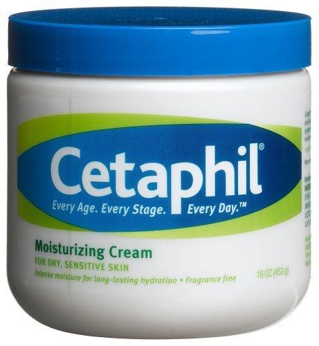 Cetaphil Moisturizing Cream, Fragrance Free 16 oz (453 g) by Cetaphil