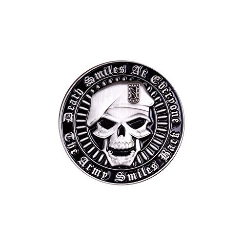 Army Death Smiles Coin by Coins For Anything Inc