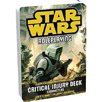 Fantasy Flight Games Critical Injury Deck Star Wars RPG: Toys & Games [5Bkhe1806891]