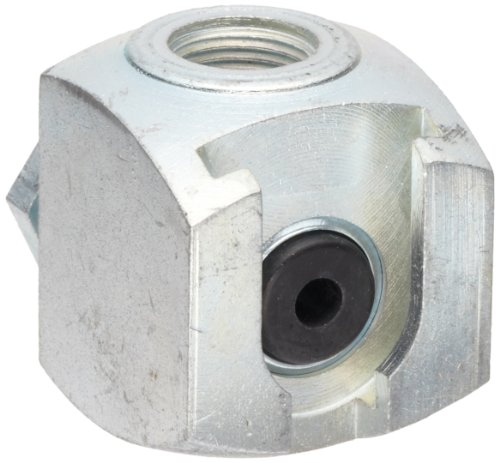 Alemite 42030 Button Head Coupler, For Use with Standard or Giant Button Head Fittings, 7/16