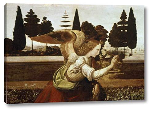 (Annunciation - Detail by Leonardo Da Vinci - 13