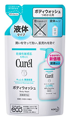 Curel Body Wash 360ml Refill