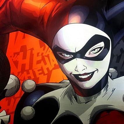 Amazon.com: Harley Quinn ha ha – Cubierta para volante coche ...