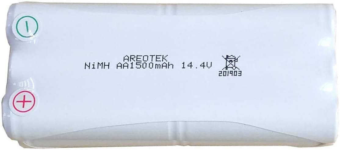 Areotek 14.4V Ni-MH Replacement Battery for Pyle PUCRC25 and PUCRC26B Pure Clean Smart Vacuum Cleaners - Pyle PRTPUCRC25BAT