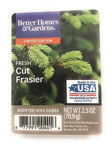 - Better Homes and Gardens Fresh Cut Frasier Wax Cubes