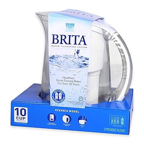 Brita 35614 80 oz. Capacity BPA-Free Oceania Water Filtration System Kit (Brita Oceania Pitcher compare prices)