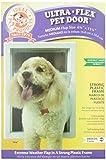 Ideal Pet Products 6 5/8'' x 11 1/4'' Medium Ultra-Flex DraftStopper Pet Door with Telescoping Frame