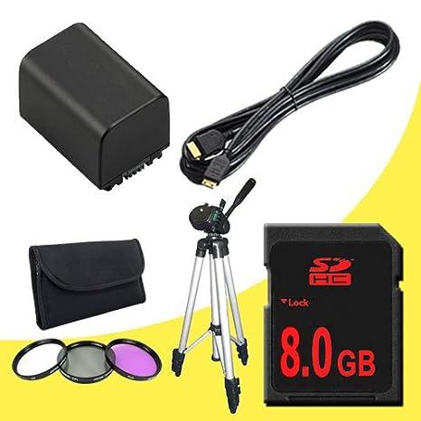 Amazon.com: BP-819 Ion de litio batería de repuesto + 8 GB ...