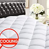 Best Cool Mattress Toppers - SOPAT Queen Mattress Pad Cover - Cooling Mattress Review