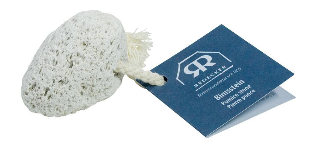 Redecker Pumice Stone with Cotton Strap, 2-3/8-Inches Bürstenhaus Redecker GmbH Germany 600010