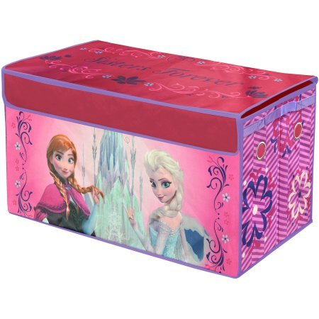 Disney Frozen Oversized Soft Collapsible Storage Toy Trunk, 30'' x 16'' x 14.5''