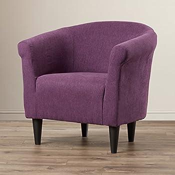 Amazon Com Modern Barrel Chair Chic Contemporary Accent