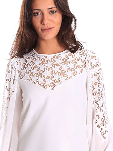 811DD10000 Rose Bianco 42 Vestito Denny Donna wASgY5Rwq