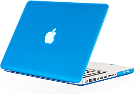 ACJYX MacBook Pro 13 Pulgadas Estuche 2012 2011 2010 2009 2008 Versi/ón A1278 Carcasa Protectora De Pl/ástico Y Cubierta para Teclado Solo Compatible con MacBook Pro 13 con CD-ROM M/ármol Gris