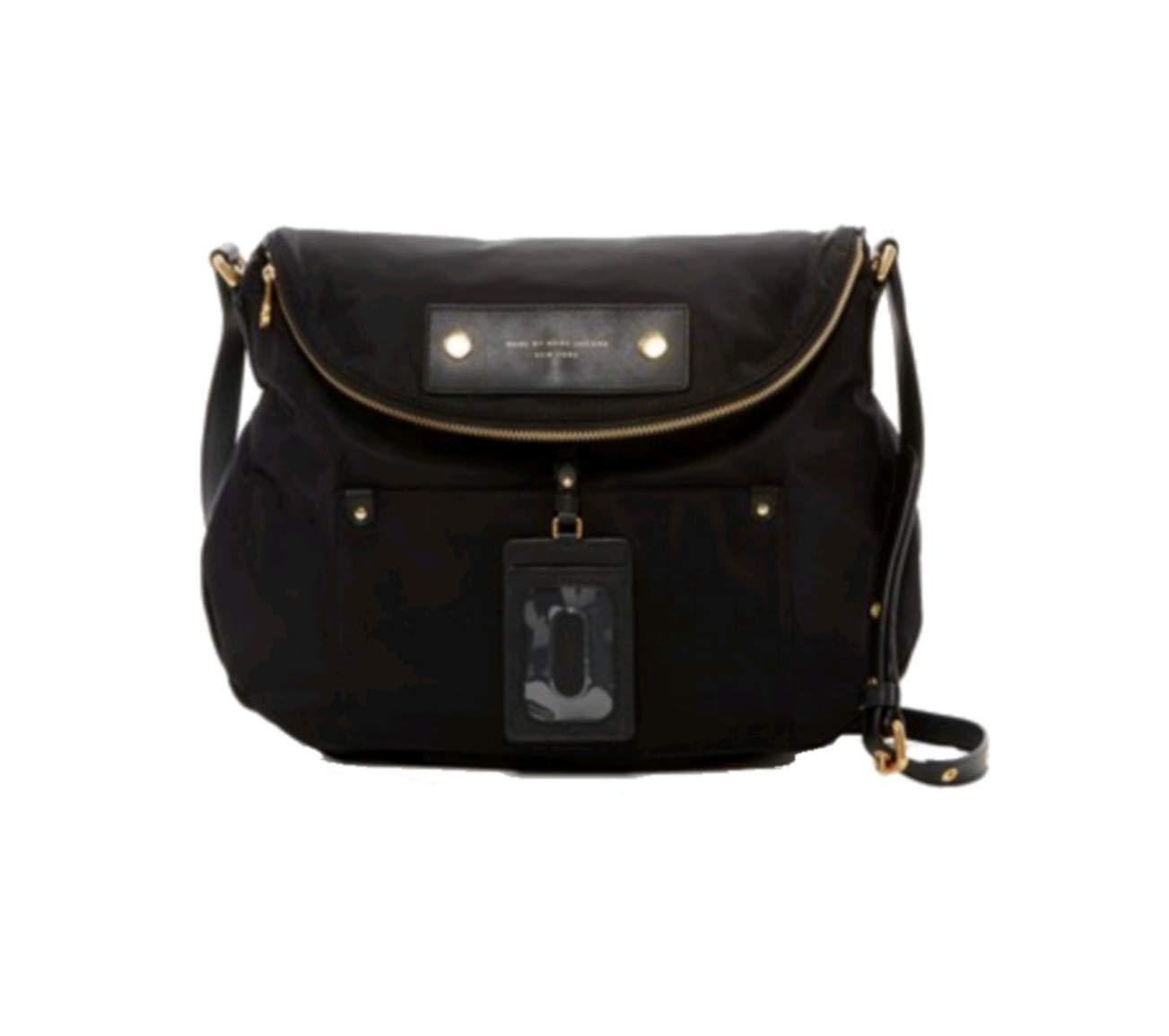 Marc Jacobs Preppy Natasha Nylon Crossbody Bag, Black