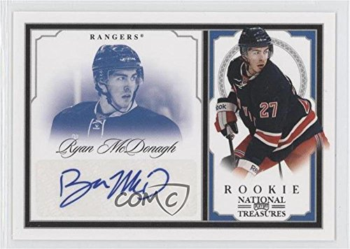 Ryan McDonagh #23/99 (Hockey Card) 2010-11 Zenith - National Treasures Autographs - Dare to Tear [Autographed] #202 -