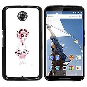 YiPhone /// Prima de resorte delgada de la cubierta del caso de Shell Armor - Sangrado Títeres - Evil Goth - NEXUS 6 / X / Moto X Pro
