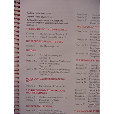 Human Anatomy and Physiology Laboratory Manual Fetal Pig Version NO ...