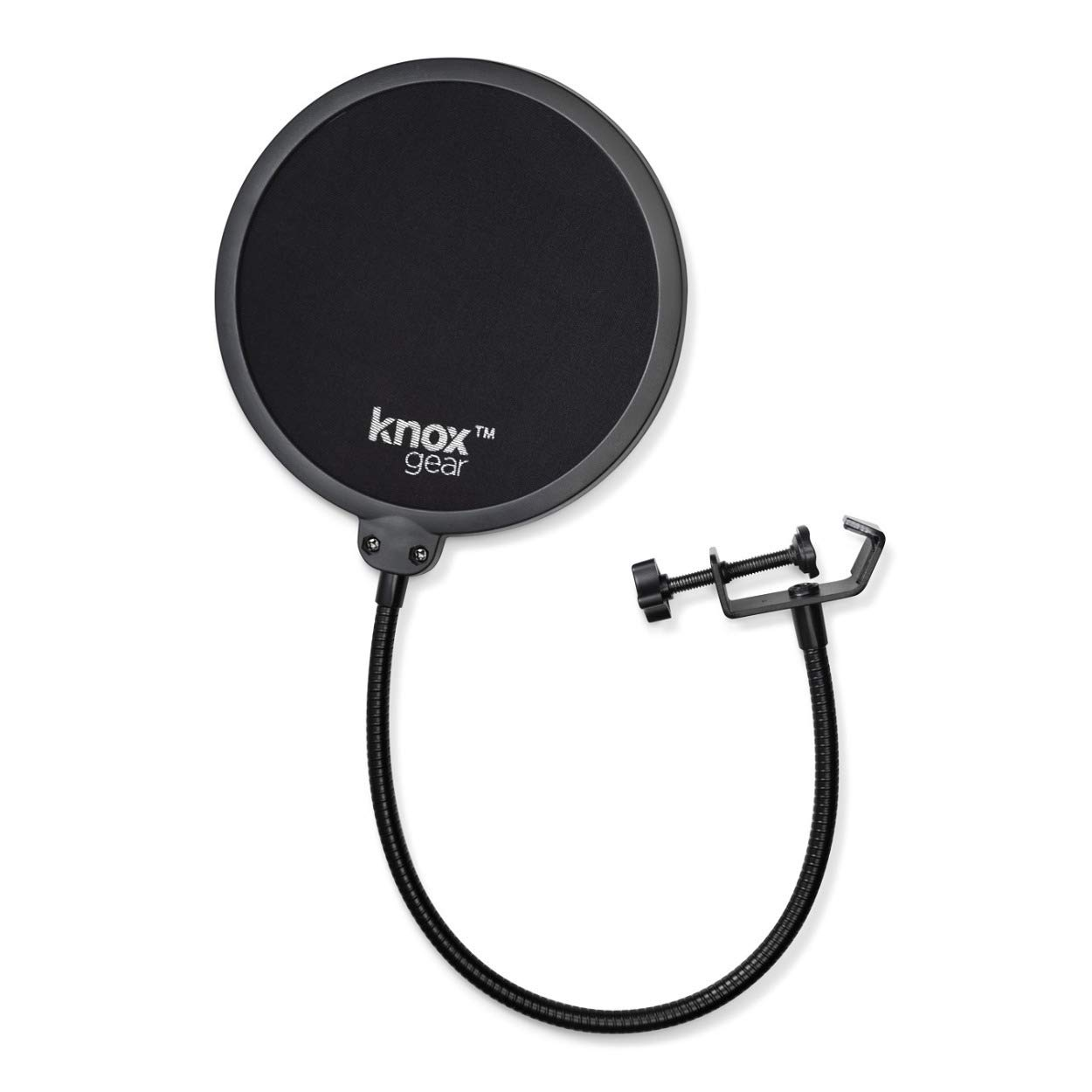 Blue Yeti Nano USB Microphone (Vivid Blue) with Headphones and Knox Gear Pop Filter by Blue Microphones