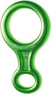 Abseilachter Aliens Mittel, Farbe:grün