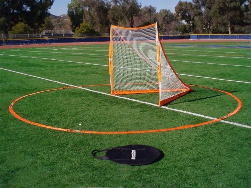 Bownet 3 Meter Official Men and Women International Regulation Sized Portable Lacrosse Crease by Bownet