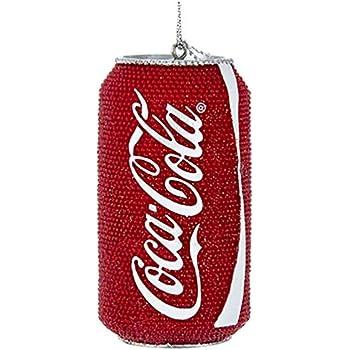 BRAND NEW Cherry Coke Glitter Can Ornament Blow-mold Kurt S Adler