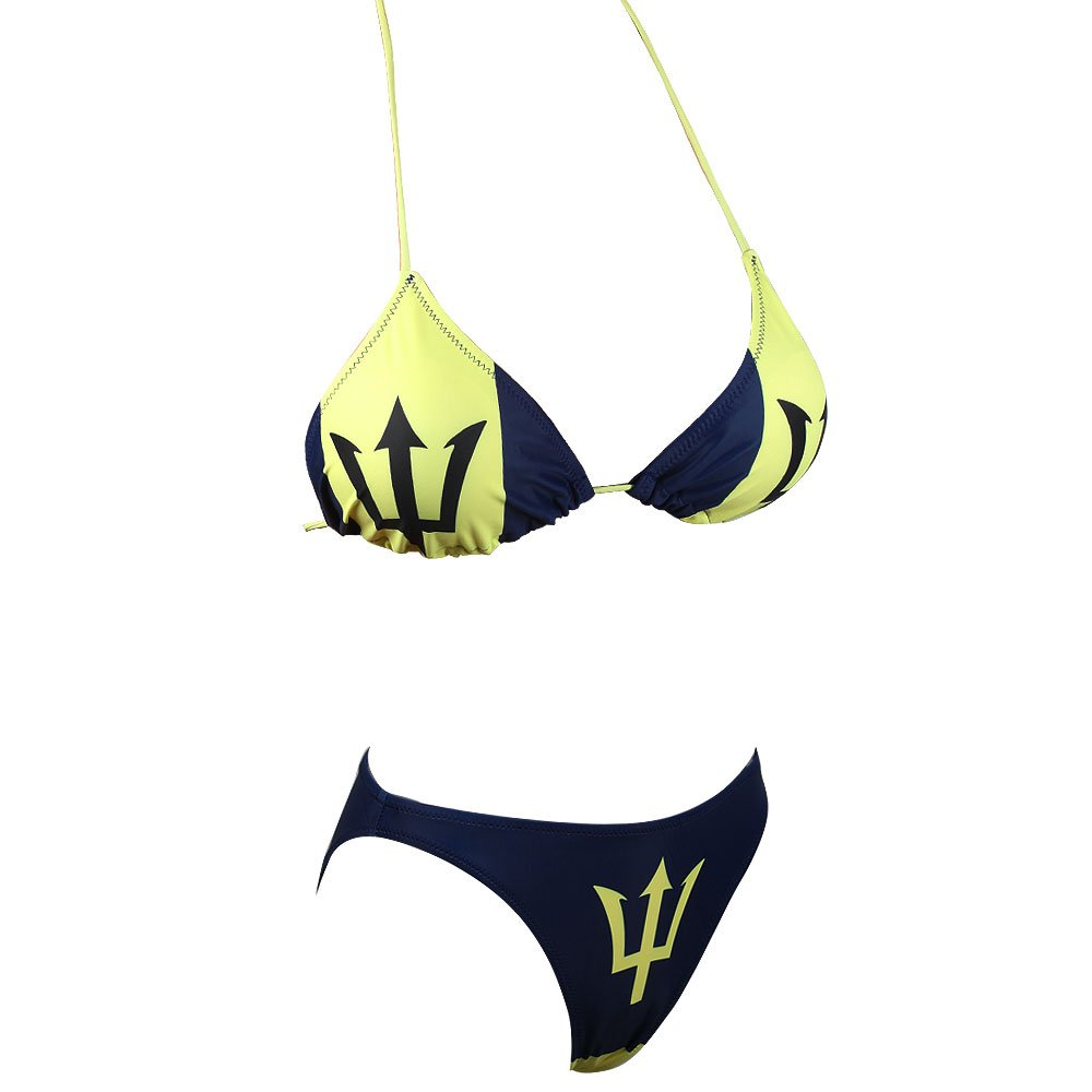 536debb8f5b Amazon.com: VOARYISA Women's Caribbean Flag Rasta Bikini Swimsuit Swimwear  Bathing Suit: Clothing