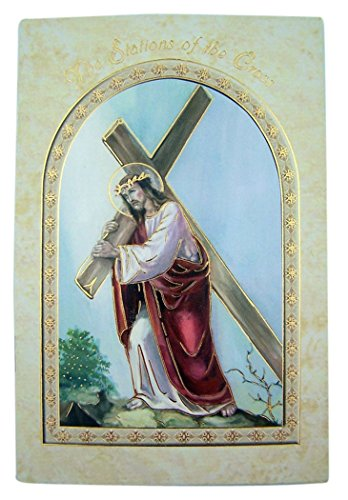The Stations of the Cross Holy Prayer Book, Paperback, 5 3/4 Inch (Readings Stations Cross Of The)