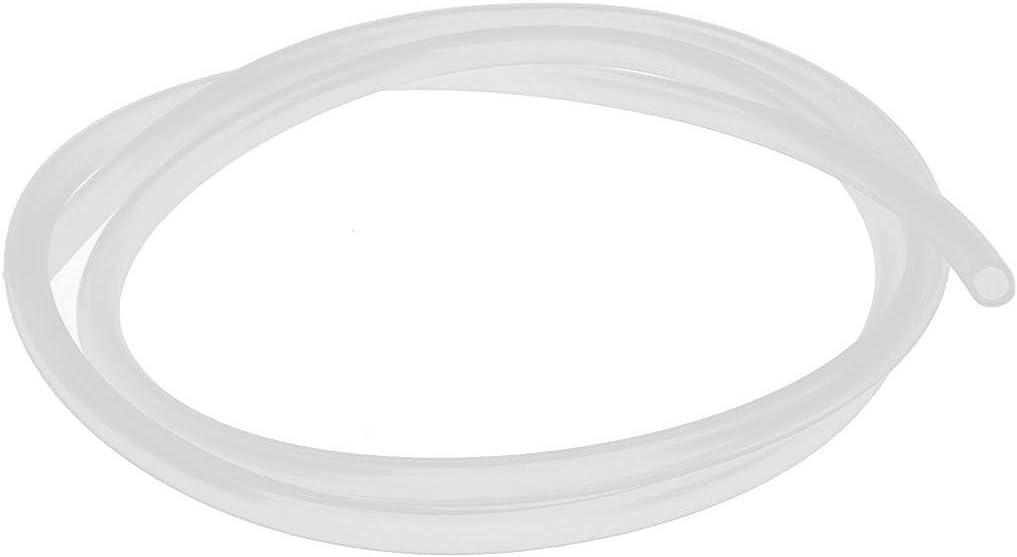 TOOGOO 5mm Tube De Tuyau Flexible 1M 3.3ft De Tuyau De Silicone De Cat/éGorie Comestible Dod X De 7mm OD