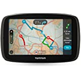 "TomTom Go 51 5"" GPS Sat Nav Worldwide (Including UK and Full Europe) Lifetime Maps and Traffic Via Smartphone"