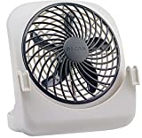 O2COOL 5-inch Pet Crate Fan for Cooling Dogs and Other Pets