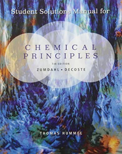 student solutions manual for zumdahl decoste s chemical principles rh amazon com Zumdahl Chemistry 7th Edition Notes.pdf Zumdahl Chemistry 7th Edition Notes.pdf