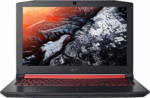 Acer Nitro 5 Flagship Gaming VR Ready Laptop, 15.6 Inch FHD Display, Intel Quad Core i5-7300HQ up to 3.5GHz, 8GB RAM, 256GB SSD, No DVD, NVIDIA GTX 1050 Ti 4GB Dedicated Graphics, Windows 10