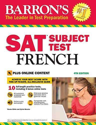 Pdf Teen Barron's SAT Subject Test French with Online Tests