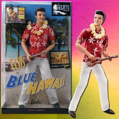 Mattel Barbie Elvis Presley Collection Classic Edition Elvis In Blue Hawaii