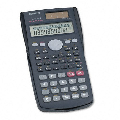 Casio : Calculator Scientific Solar -:- Sold as 2 Packs of - 1 - / - Total of 2 Each by Casio