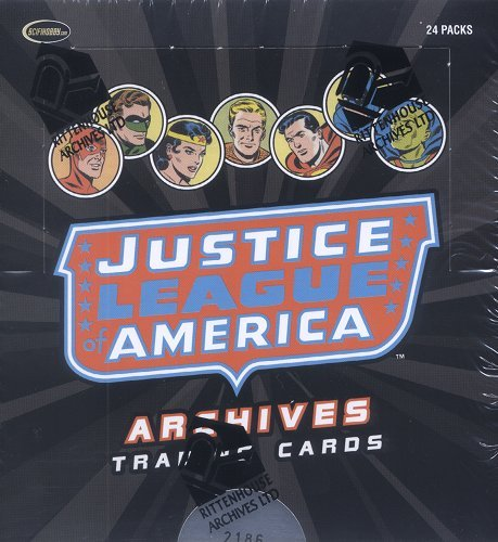 Rittenhouse Justice League of America Trading Card Box by DC (Dc Card Japan)