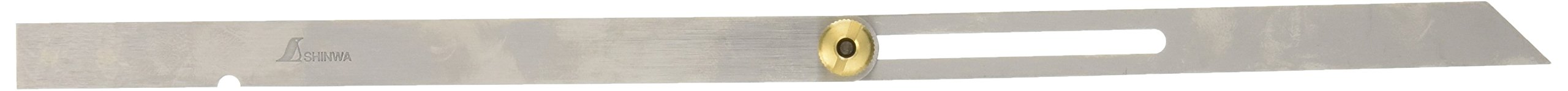 Shinwa 62588 Japanese 6''/15 cm Stainless Steel Sliding Bevel Gauge