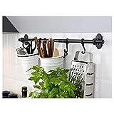 IKEA Fintorp Utensil Holder, White, Black