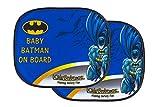KidsEmbrace Batman Car Sun Shade, DC Comics Baby On Board Window...