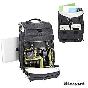 Beaspire Large Camera Backpack