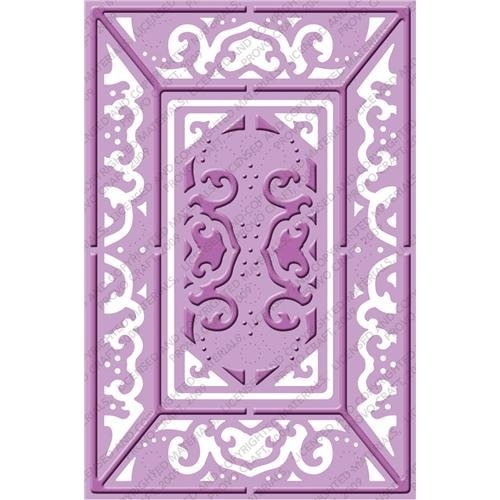 Provo Craft Cuttlebug Plus A2 Embossing Folder, Lace Door (Cut Die Cuttlebug Embossing Machine)