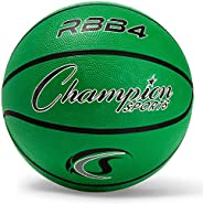 "Champion Sports Pro Rubber Basketball, 28.5"" Dia"