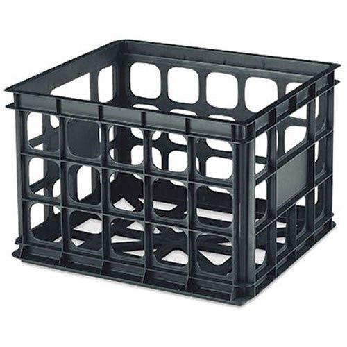 Sterilite Plastic Storage Crate, (Sterilite Storage Crate)