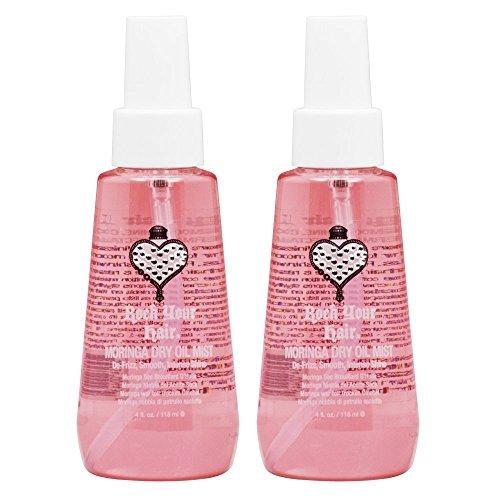 Rock Your Hair Moringa Dry Oil Mist 4oz Pack of 2 by Rock Your Hair (Rock Your Hair Dry Oil)