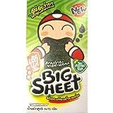 Tao Kae Noi Seaweed snack Big sheet (Original) 3.5 g Pack 12