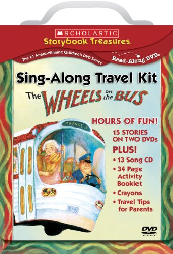 - The Wheels on the Bus Sing-Along Travel Kit (Scholastic Storybook Treasures)
