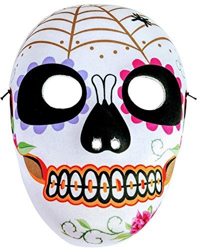 Dia De Los Muertos Mask, Day of the Dead, Halloween, Mardi Gras