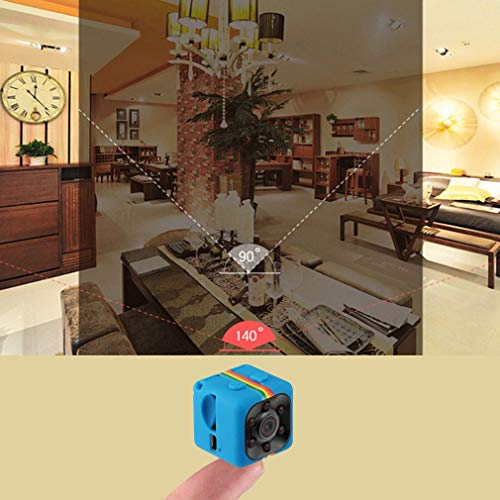 FairytaleMM SQ11 Mini Portable Camera 1080P HD Camcorder Lithium Battery Sports DV (Vista Plastic Cabinet)