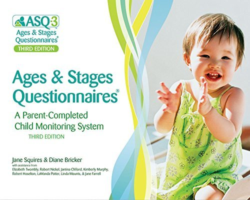 Ages & Stages Questionnaires????, Third Edition (ASQ-3TM): A Parent-Completed Child Monitoring System by Jane Squires Ph.D. (2009-06-02)